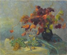Alessio ISSUPOFF - Painting - Floral still-life