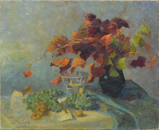 Alessio ISSUPOFF - Pintura - Floral still-life