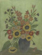 Avraham AZEMON - Peinture - Flowers