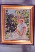 Marie Lucie NESSI-VALTAT (1910-1993) - Portait de femme