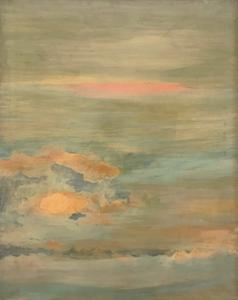 Ilia PEIKOV - Gemälde - Spazio, 1961