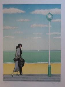 Jean-Pierre CASSIGNEUL - Print-Multiple - LE  LAMPADAIRE