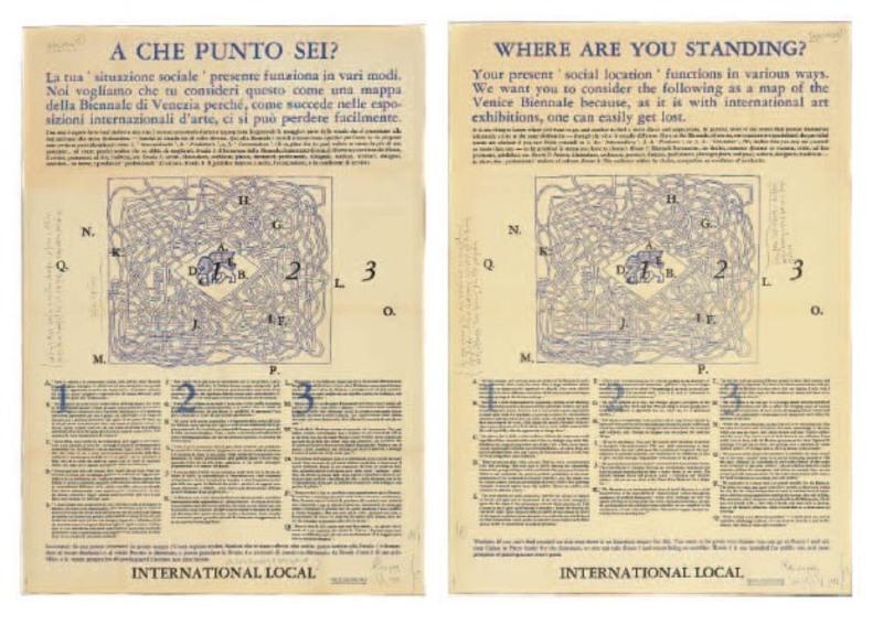 Joseph KOSUTH - Print-Multiple - Where are you standin
