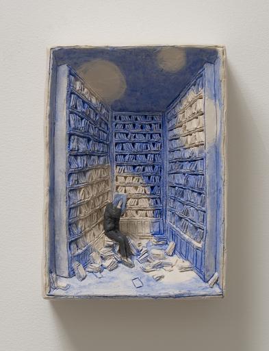 Pino DEODATO - Peinture - Pensierini blu