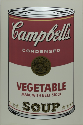 Andy WARHOL - Print-Multiple - Campbell's Soup I, Vegetable F&S II.48