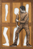 LEVALET - Pintura - Recomposition