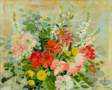 LE PHO - Painting - The Spring Bouquet
