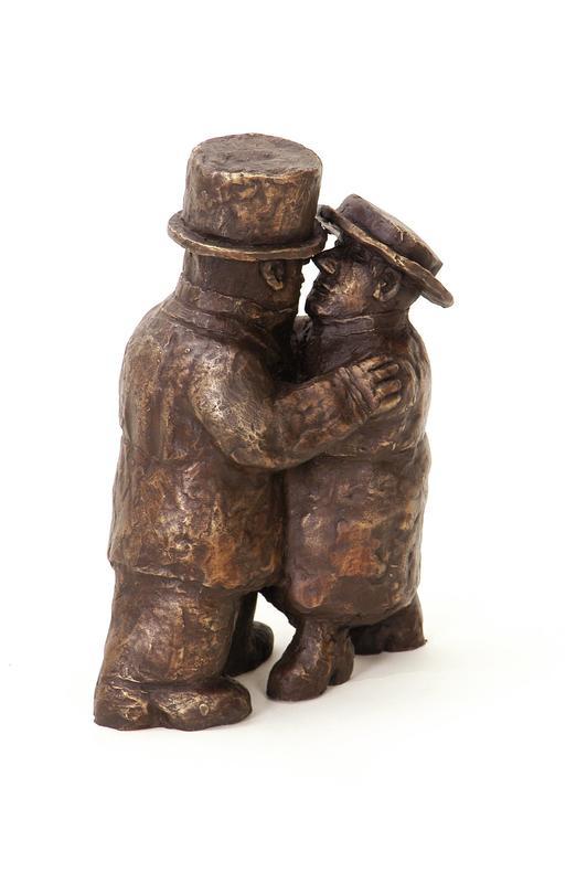 Franz BORGHESE - Skulptur Volumen - Il Bacio