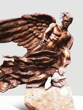 Frederick Elliot HART - Sculpture-Volume - The Herald