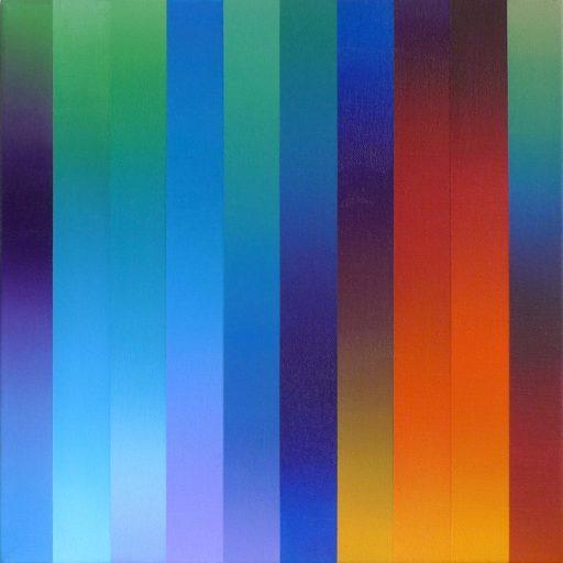 Catherine GUINOT - Painting - « Miroitements #01 »