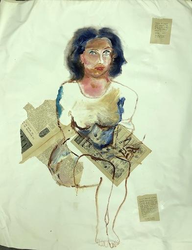 Manuel MONTERO - Peinture - Laure II