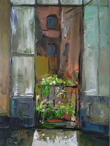 Ohanyan KAMSAR - Peinture - The sun in the room