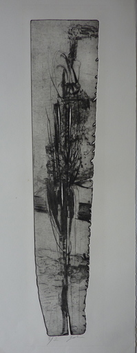 Alain GESTIN - Estampe-Multiple - Sentinelle