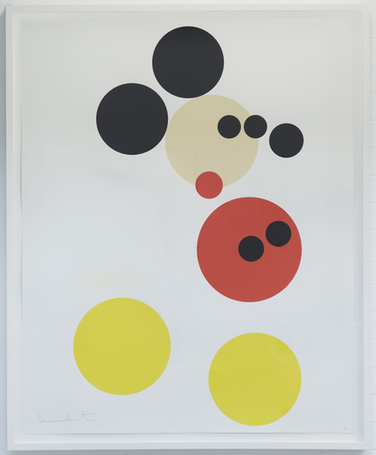 "Damien HIRST - Print-Multiple - ""Mickey Mouse"""