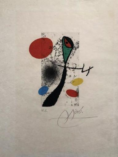 Joan MIRO - Grabado - Composition