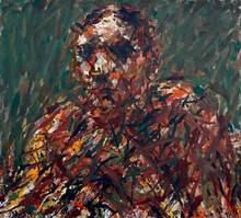 Max UHLIG - Pintura - Bildnisstudie F.