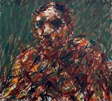 Max UHLIG - Painting - Bildnisstudie F.