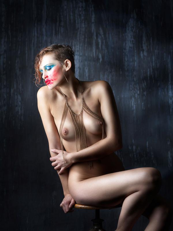 Jean-Michel ROUSVOAL - Photography - Nu Assis