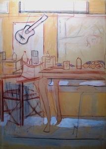 Manuel QUEJIDO - Gemälde - El espacio de la mesa