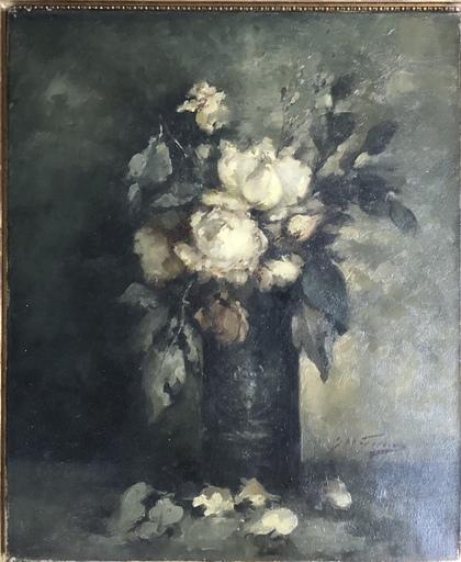 Julius FEDDERS - Peinture - Blumen Stilleben