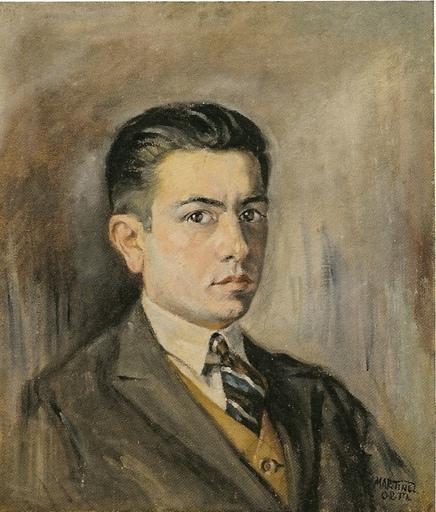 Nicolás MARTINEZ ORTIZ DE ZARATE - Pintura - Autoretrato