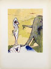 Dorothea TANNING - Grabado - Hommage à Max Ernst