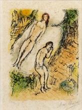Marc CHAGALL - Estampe-Multiple - Odyssea I - the lamentations of Ulysses