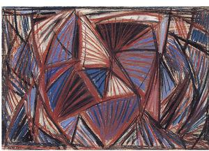 Gualtiero NATIVI - 绘画 - Senza titolo 1951