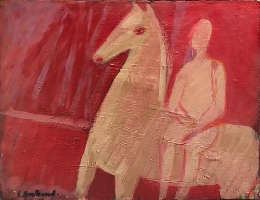 Solange BERTRAND - Peinture - Sans titre, 1959