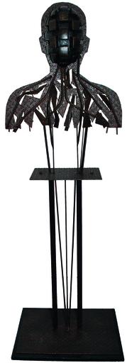 Michel BATLLE - Sculpture-Volume - Accidental 1,2 et 3