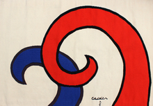 Alexander CALDER - Tapestry - The Waves | Les Vagues