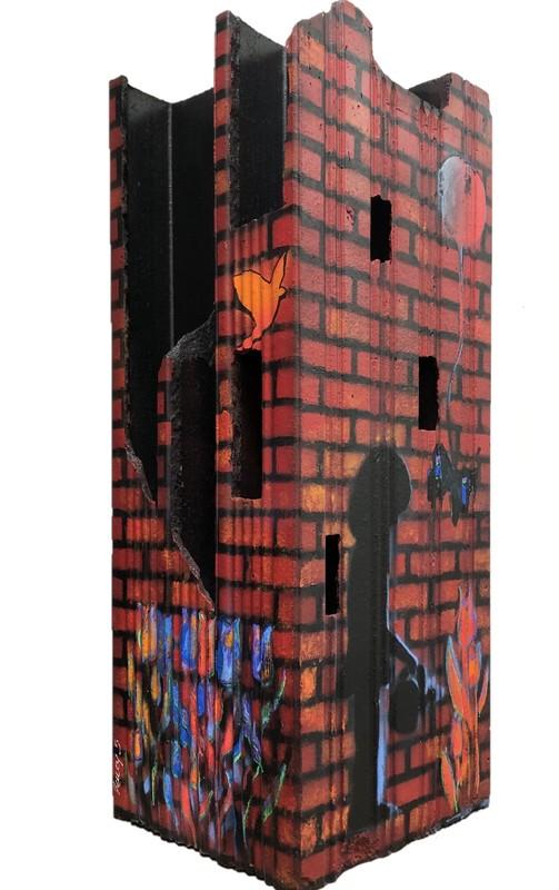 AMEY - Painting - la brique 5
