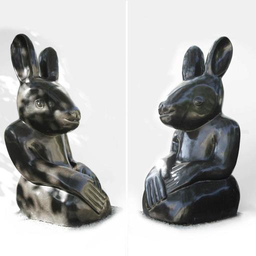 Sylvester MUBAYI - Sculpture-Volume - Lapin