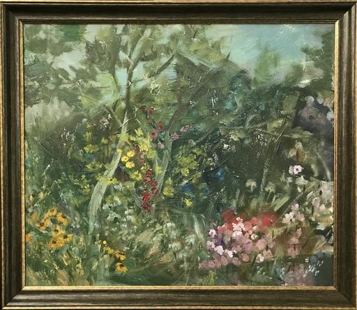 Anstasiia PELESHOK - Gemälde - Wet garden
