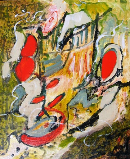Josette DUBOST - Pittura - Joyeuse Promenade
