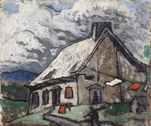 Marc-Aurèle FORTIN - Painting - Windy Day, Ste. Rose