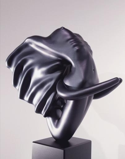 Anis DARGAA - Sculpture-Volume - Éléphantasme Noir