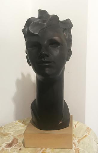 Enzo BENEDETTO - Escultura - Ritratto di Stefania Lotti