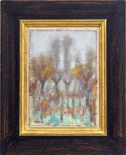 Ardengo SOFFICI - Painting - Bruma auttunale