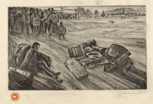 Bedrich LEDERER - Print-Multiple - The Cargo