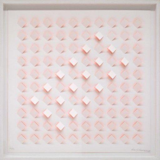 Luis TOMASELLO - Print-Multiple - S/T 4 - Naranja