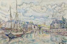 Paul SIGNAC - Drawing-Watercolor - Lannion