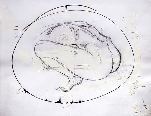 Guillaume KALT - Dibujo Acuarela - Stay    (Cat N° 6151)