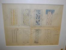 Frits SPANJAARD (1889-1978) - Projet de tapis