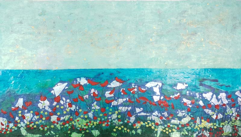 Corine LESCOP - Peinture - Symphonie Marine