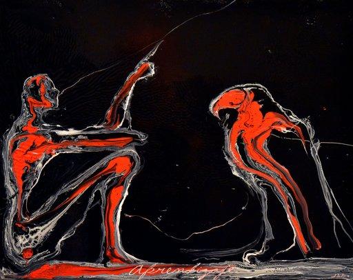 José BEDIA VALDÉS - Painting - Aprendizaje
