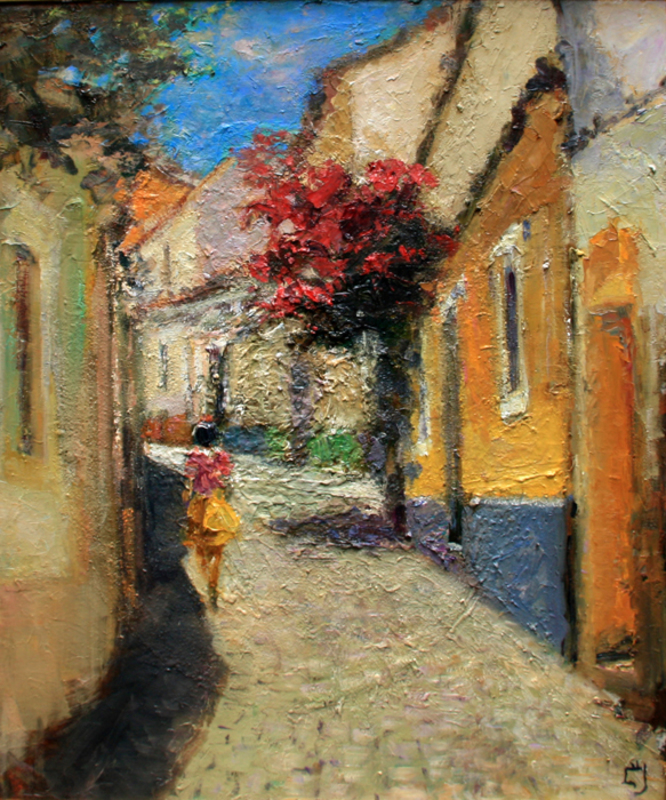 Levan URUSHADZE - Peinture - Redwood street