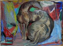 Josef PRESSER (1907-1967) - Two Horses