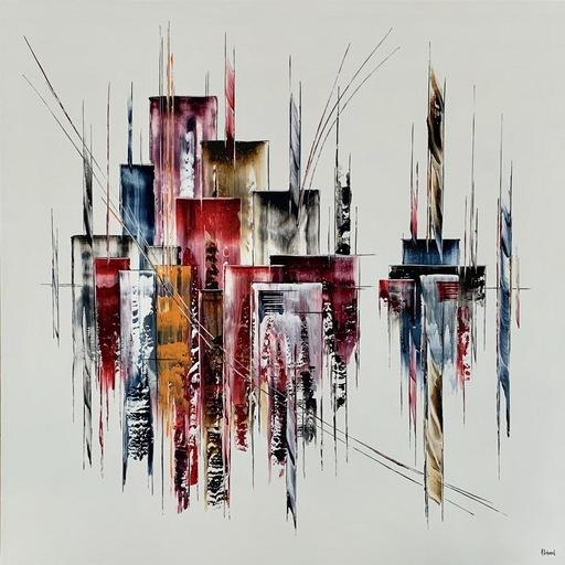 Arnaud DUHAMEL - Pittura - N°I0605