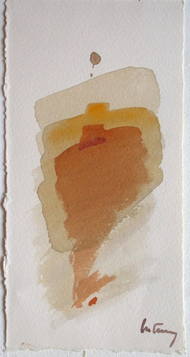 Roger BERTEMES - Drawing-Watercolor - Composition
